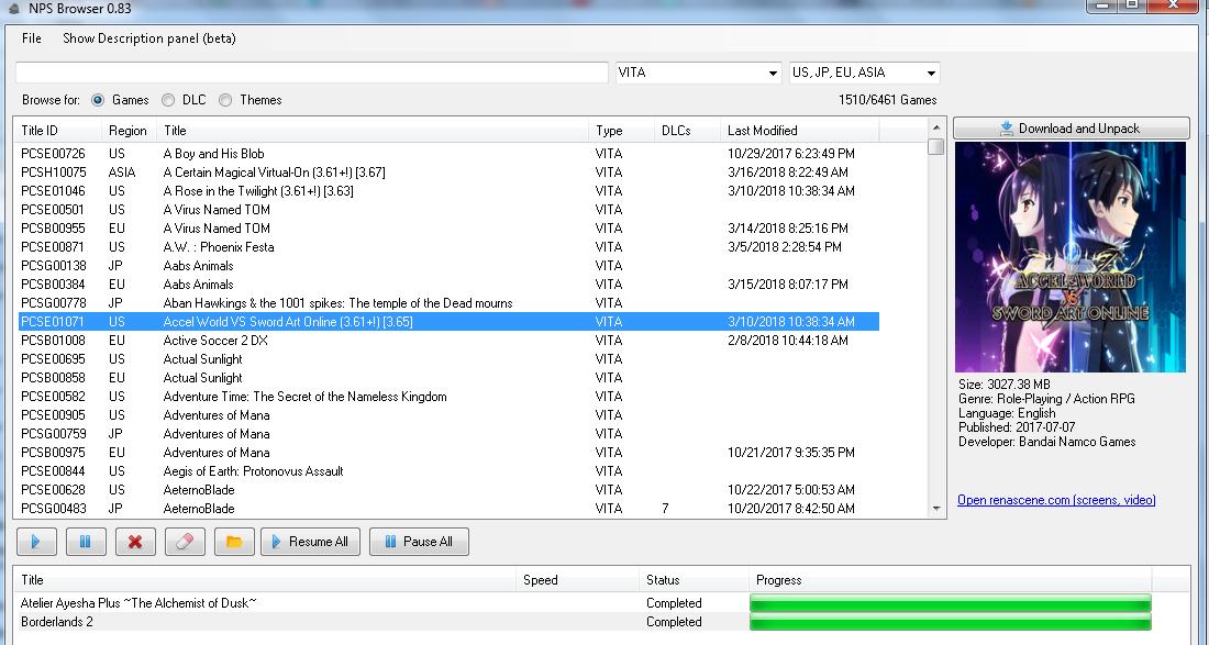 Hướng Dẫn Download Games PS Vita NoNpDrm [NoPayStation